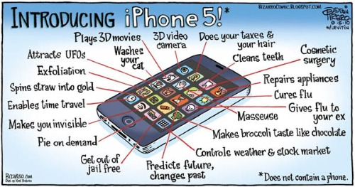 Features of iPhone 5 – A Brand New Era