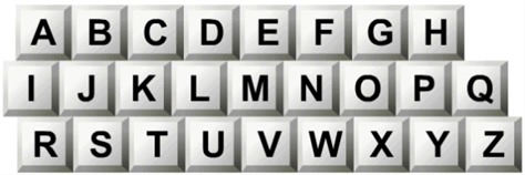 Why keyboard alphabets are not in order?