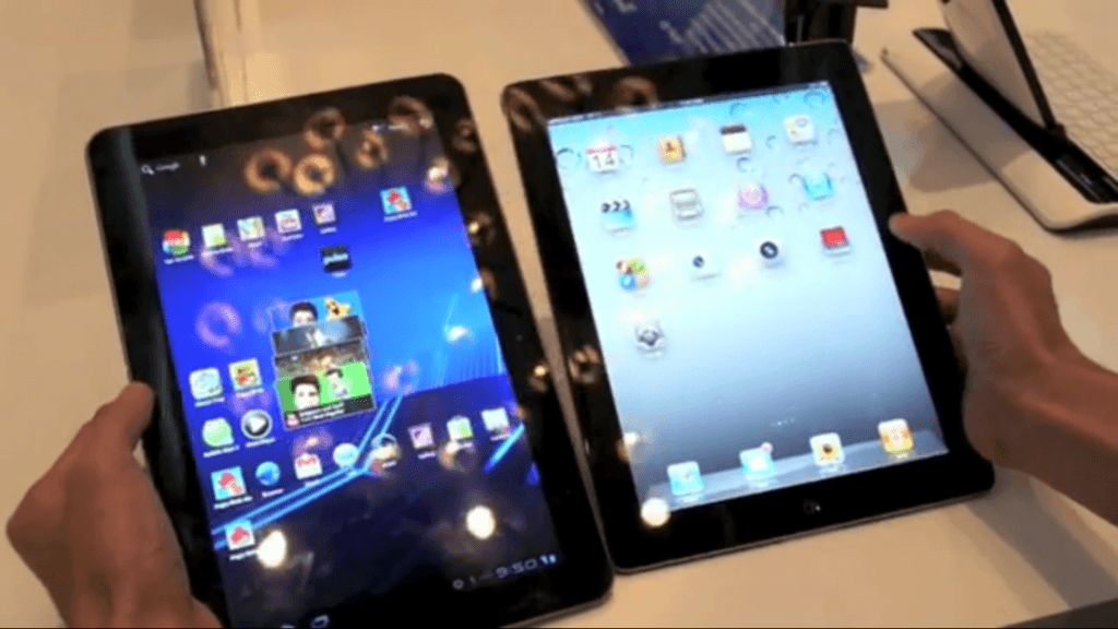 Samsung Galaxy Tab 10.1 faces a tough challenge from iPad 2