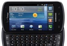 Samsung Stratosphere tops the best cell phone list with QWERTY pad