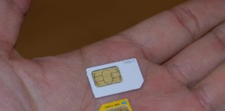 The all new efficient Nano SIM card!