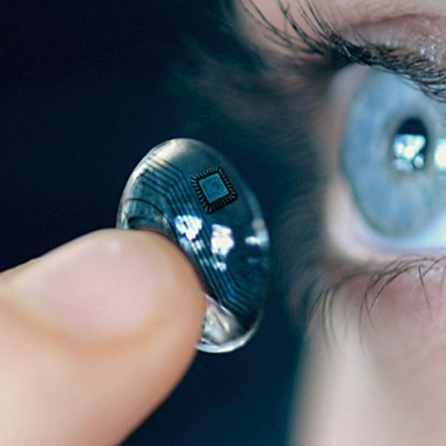 iOptik Lens – An Awesome Contact Lens for a Superhuman Vision!